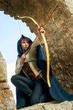 Archer féminin antique Image libre de droits