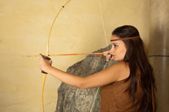 Archer girl Stock Photography