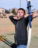 Archer joven Fotos de archivo libres de regalías