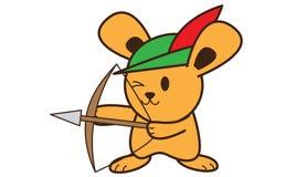 Archer królik Zdjęcie Stock