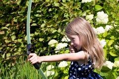 Archer-Mädchen Lizenzfreie Stockbilder