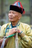Archer mongol Imágenes de archivo libres de regalías