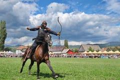 Archer na ação Imagem de Stock Royalty Free