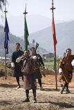 Archer, Paro, Bhutan Stock Images
