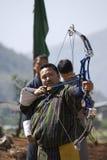 Archer, Paro, Bhutan Stock Image