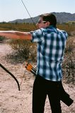 The Archer Recurve Bow Royalty Free Stock Photo