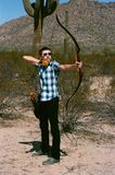 The Archer Recurve Bow Stock Photography