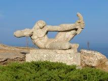 Archer-Skulptur Lizenzfreie Stockbilder