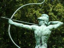 Archer statue in Sanssouci Park, Potsdam, Germany, Europe Stock Images