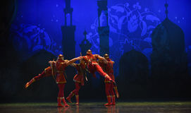"""Archer team- ballet """"One Thousand and One Nights"""" Royalty Free Stock Photo"""