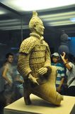 Archer of the terracotta army. Terracotta Army stock photos