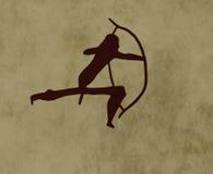 Archer tribal Images libres de droits