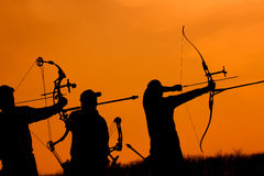 Archers Stock Image