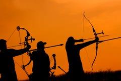 Archers image stock