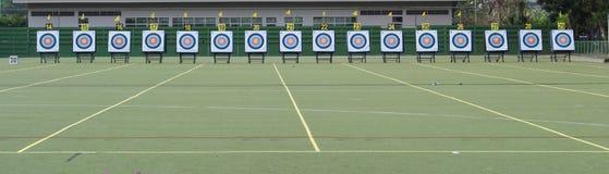 Archery поля Стоковые Изображения RF