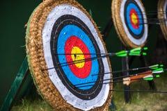 Archery цели Стоковое Фото