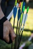 Archery для активных людей Стоковое Фото