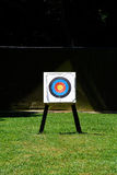 Archery. Practice makes perfect, aim for the centre Stock Photography
