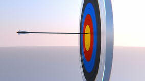 Archery Animated Video Background stock footage