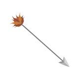 Archery arrow icon Royalty Free Stock Photos