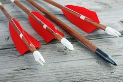 Archery arrows Royalty Free Stock Photography