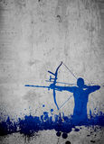 Archery background Stock Photography