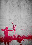 Archery background Stock Image