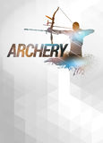 Archery background Royalty Free Stock Photo