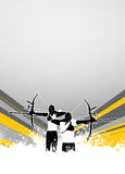 Archery background Royalty Free Stock Image