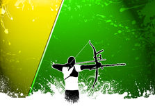 Archery background Royalty Free Stock Photos