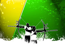 Archery background Stock Images