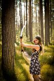 Archery, Beautiful, Beauty Royalty Free Stock Image