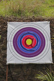 Archery Board, Shooting Targets, Email icon, at symbol. Concept Royalty Free Stock Image