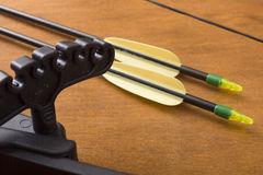 An Archery Bow and Arrows Stock Image
