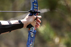 Archery bow Stock Photography