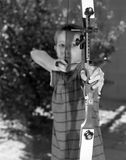 Archery Boy Royalty Free Stock Photos