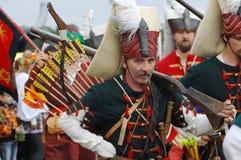 Archery soldier Stock Photos