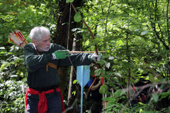 Archery competition Royalty Free Stock Images