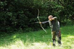 Archery competition Royalty Free Stock Photography