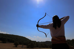 Archery competition in Turkey Stock Photos