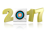 Archery 2017 design Stock Photography