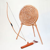 Archery equipment stock images