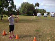 Archery stock image