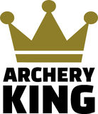 Archery King Royalty Free Stock Photos