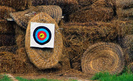 Archery place. An archery place from a club royalty free stock images