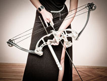 Archery queen Royalty Free Stock Photo