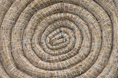 Archery Round Coiled Straw Target Background Royalty Free Stock Images