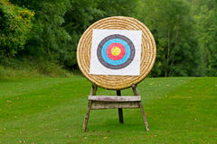 Archery shooting target Stock Image