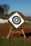 Archery shooting target Royalty Free Stock Photos