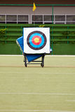 Archery shooting target Royalty Free Stock Images
